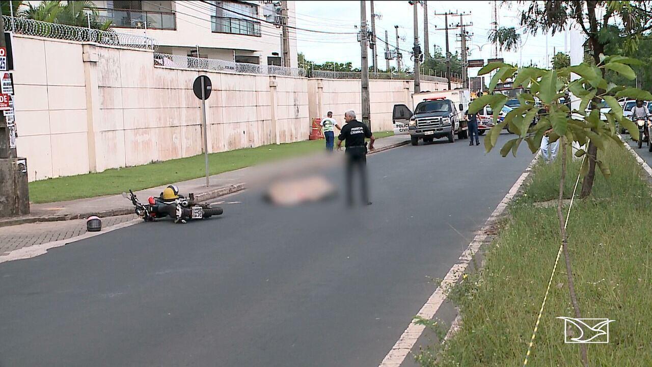 Mulher morre em acidente de trânsito no bairro Cohafuma na capital