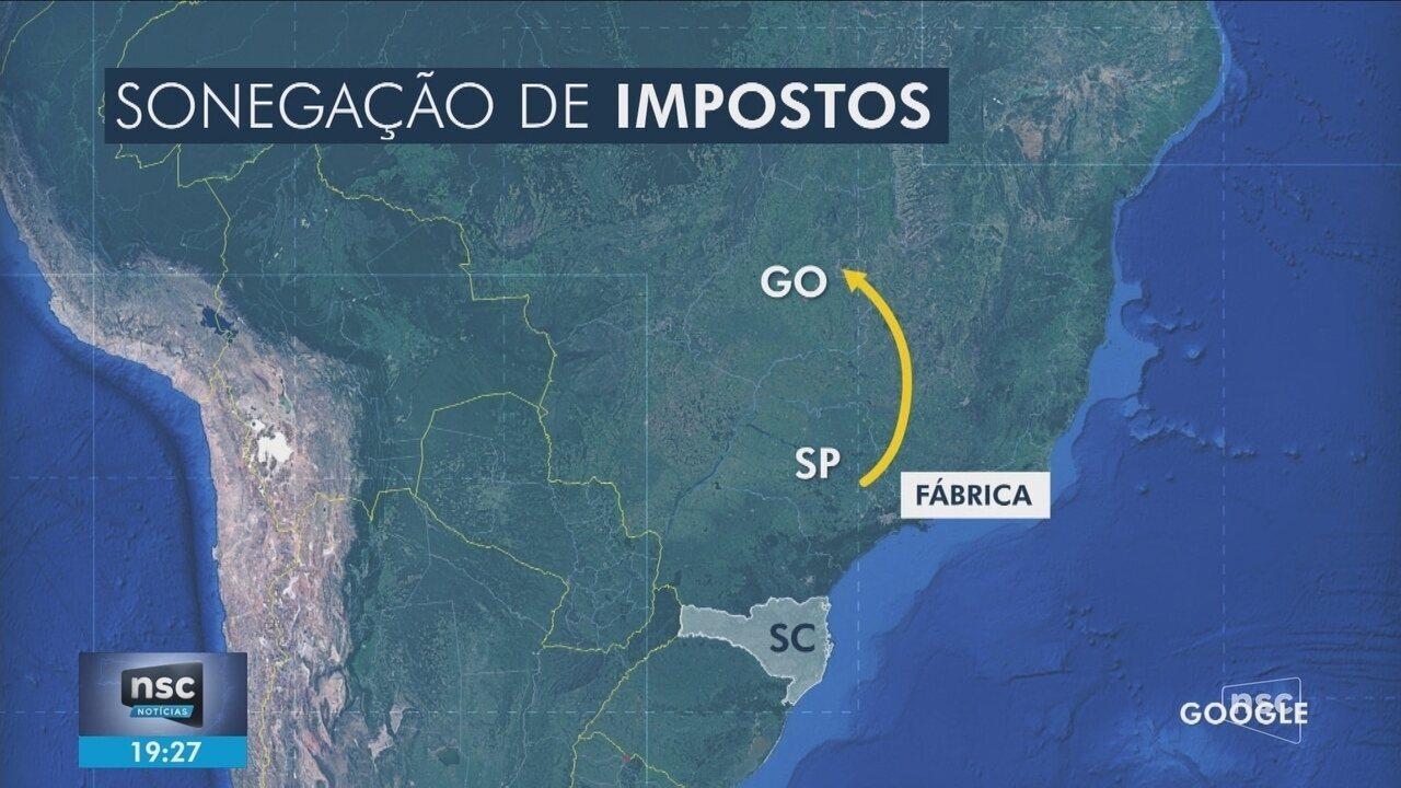 Gaeco cumpre mandados em SC, GO e DF em operação contra sonegação fiscal