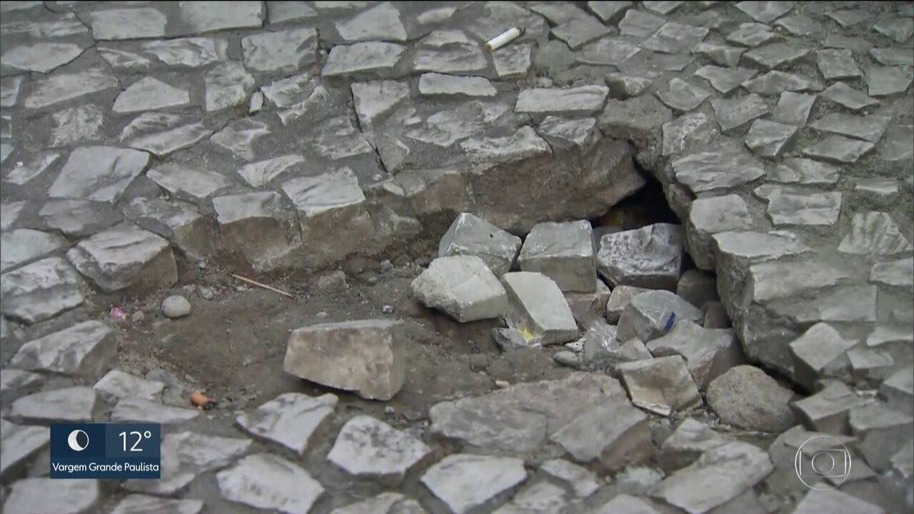 Prefeitura publica lista de bairros que fazem parte do plano emergencial de calçadas