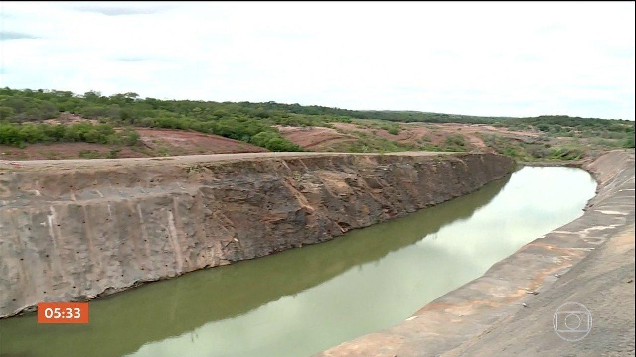 Doze anos após início da obra, transposição do Rio São Francisco não foi concluída