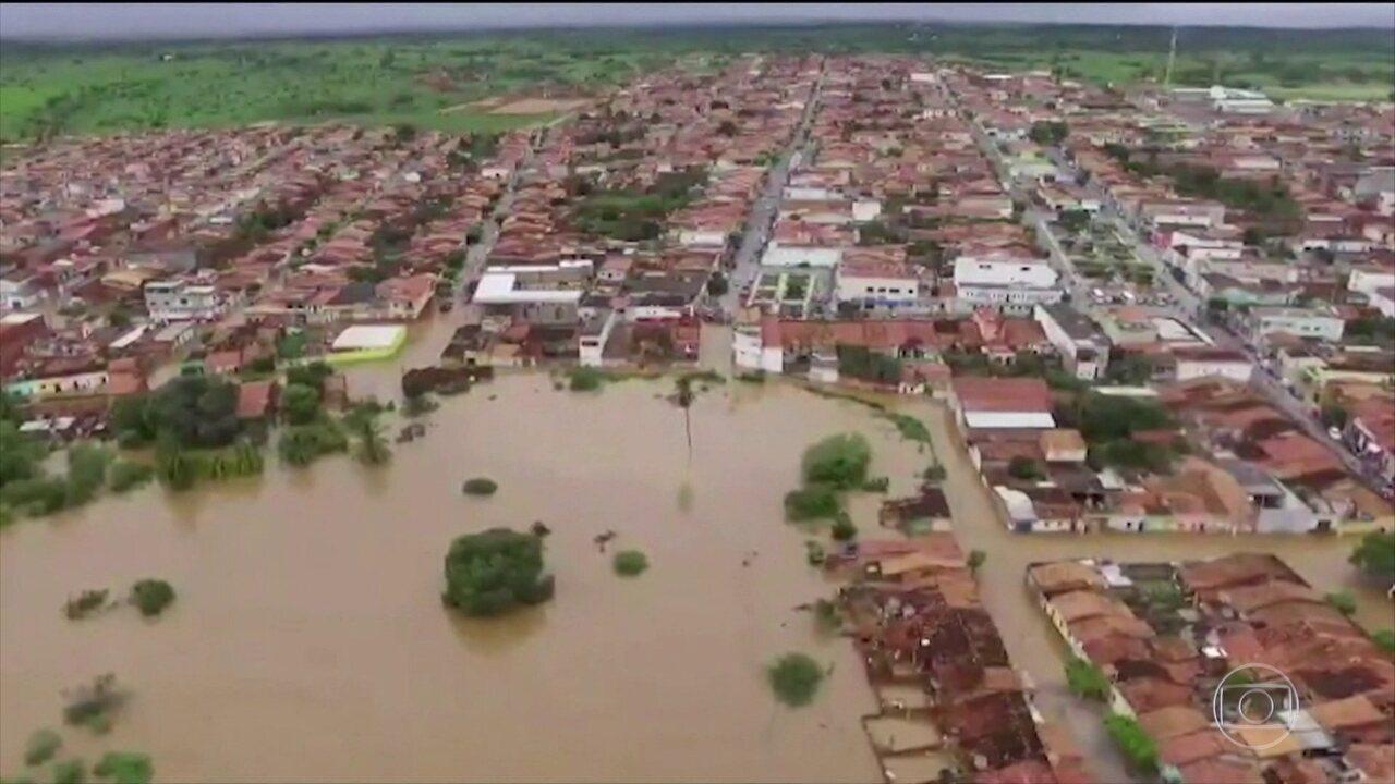 Governo da Bahia confirma que barragem em Pedro Alexandre se rompeu na quinta (11)