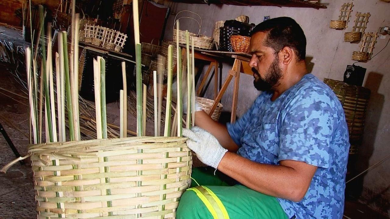 Fabricar balaios é tradição em município do Interior Paulista