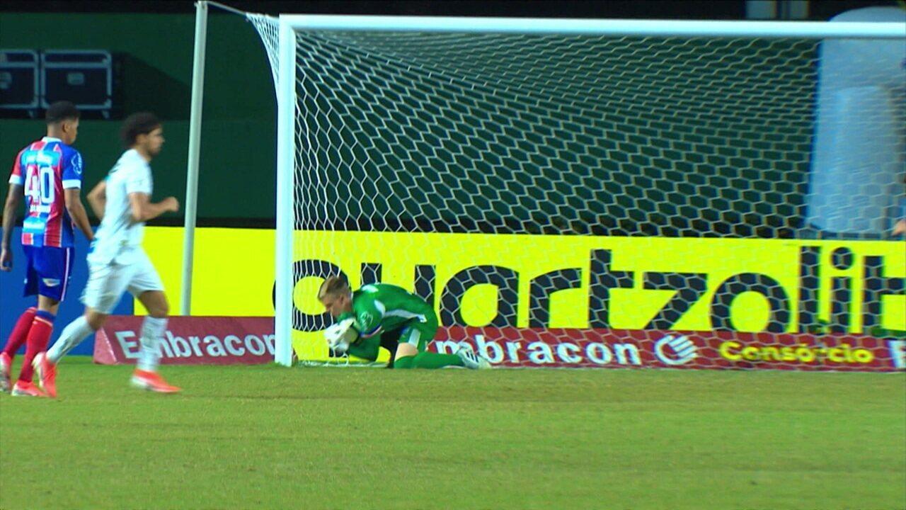 Melhores momentos de Bahia 0x1 Santos pela 10º rodada do Campeonato Brasileiro