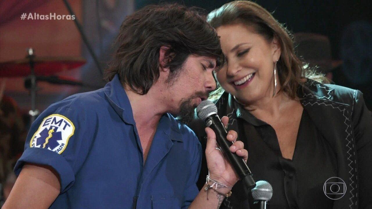 Fafá de Belém canta 'Você Não Serve Pra Mim' com Del Rey
