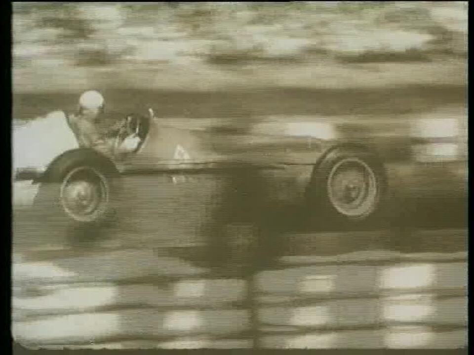 Imagens da primeira corrida da história da Fórmula 1, em Silverstone-1950