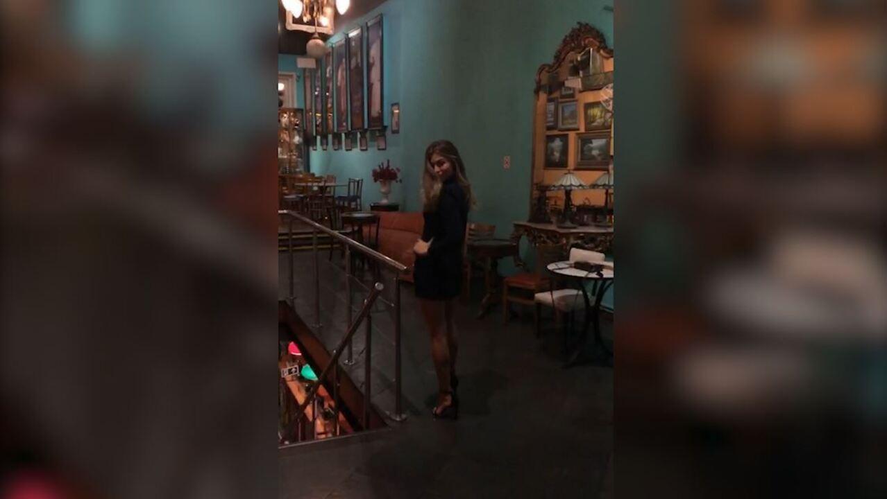 Grazi mostra sua beleza no evento de lançamento de 'Bom Sucesso'