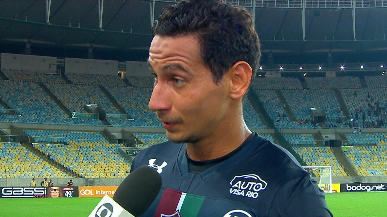 Ganso diz que não sabia que estava pendurado e vai desfalcar Fluminense em clássico na próxima rodada