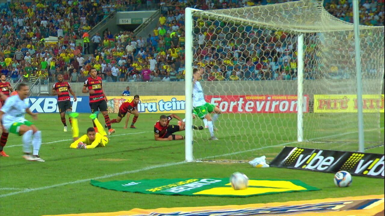 Melhores momentos: Cuiabá 1x1 Sport pela 10º rodada da Série B do Brasileiro