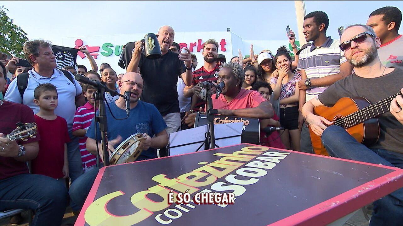 Em Rio das Pedras, Cafezinho com Escobar comenta rodada do Brasileirão com torcedores