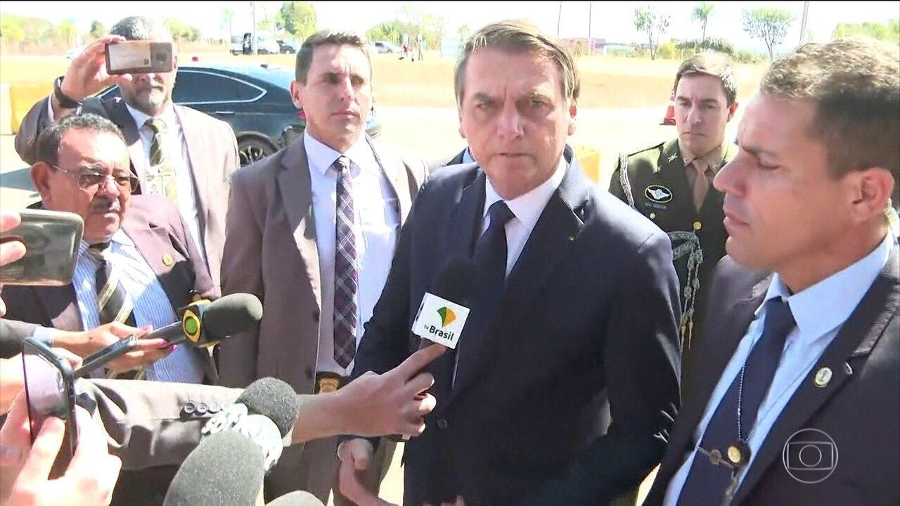 'Da minha parte, está definido', diz Bolsonaro sobre indicação de Eduardo para embaixada
