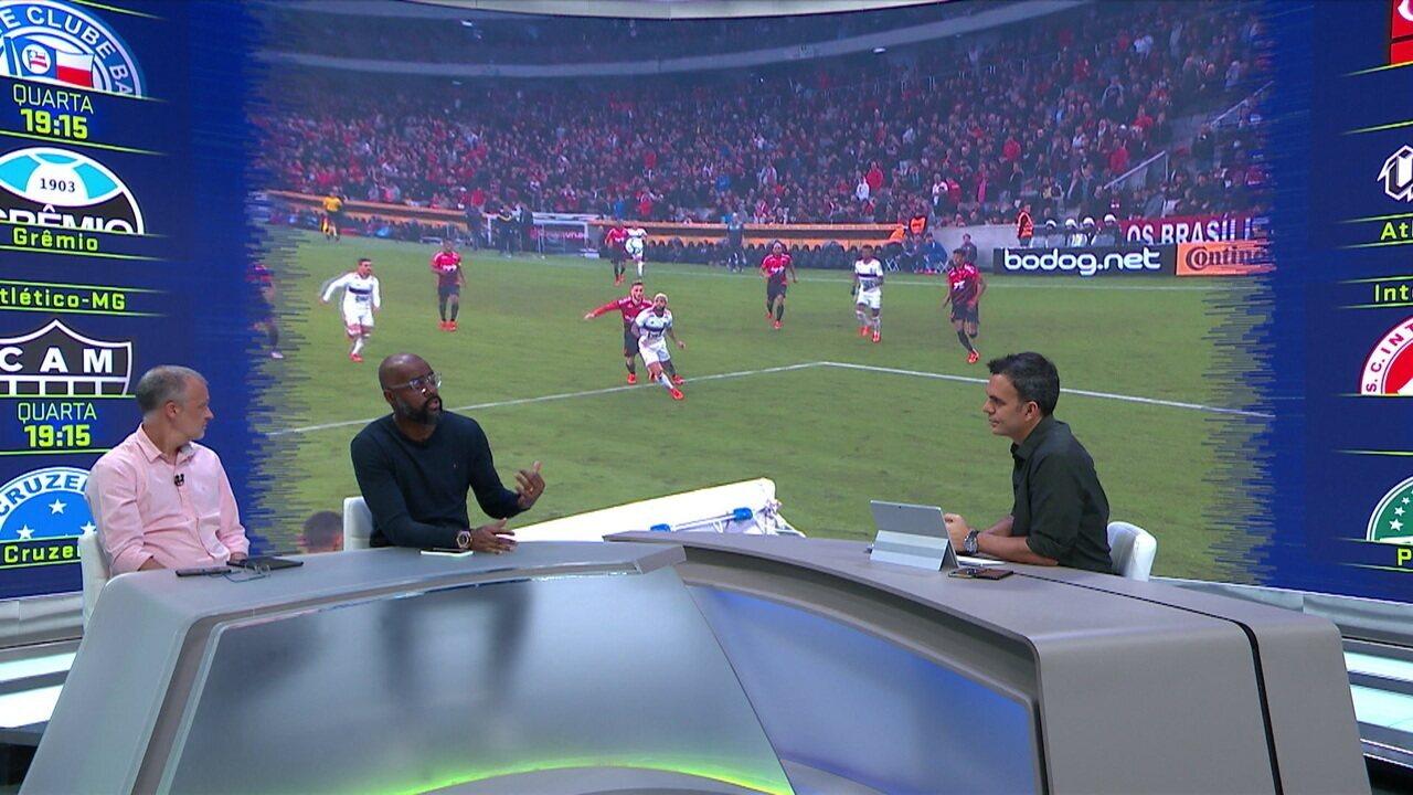 Comentaristas analisam se Flamengo tem favoritismo contra Athletico-PR