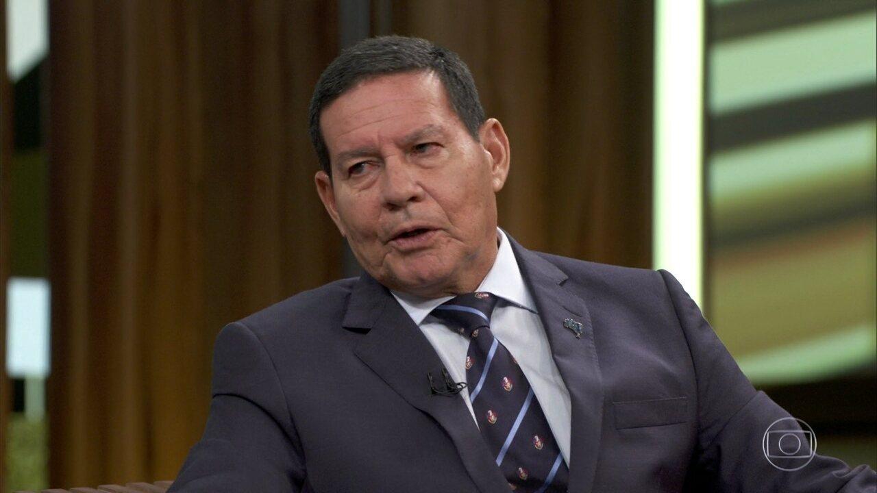 Mourão fala sobre Defesa de intervenção militar