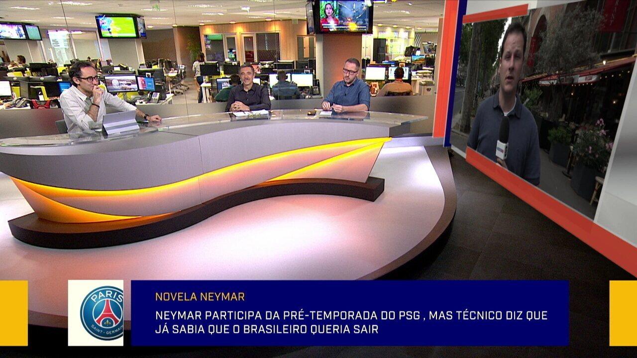 """Para jornalista, negociação envolvendo Neymar está mal explicado: """"É um processo complexo"""""""