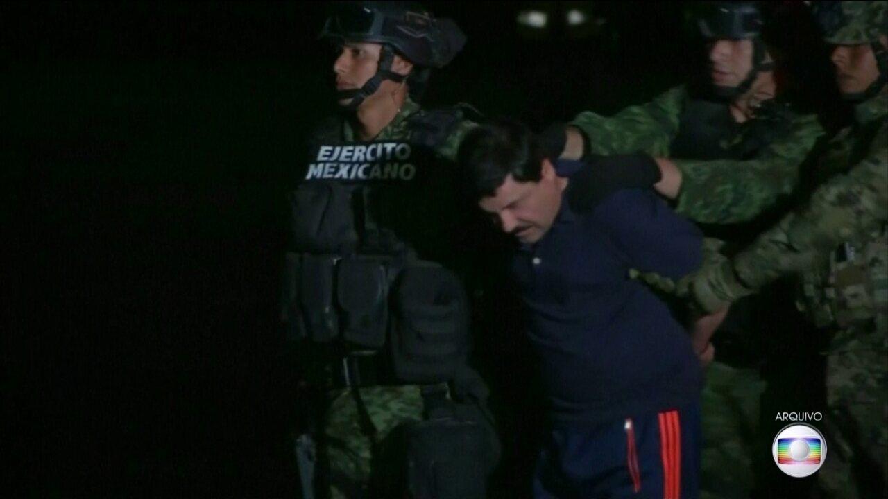 Mexicano El Chapo é condenado a prisão perpétua nos EUA