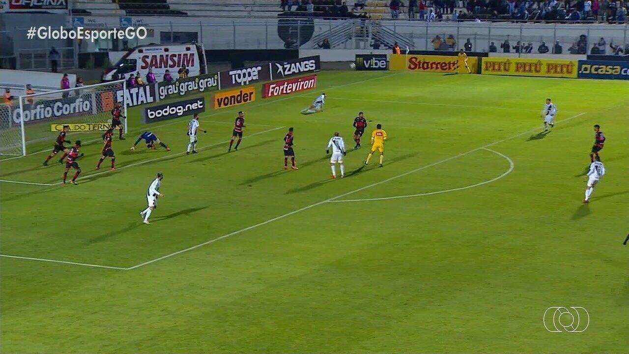 Atlético-GO empata com a Ponte Preta por 0 a 0, em Campinas
