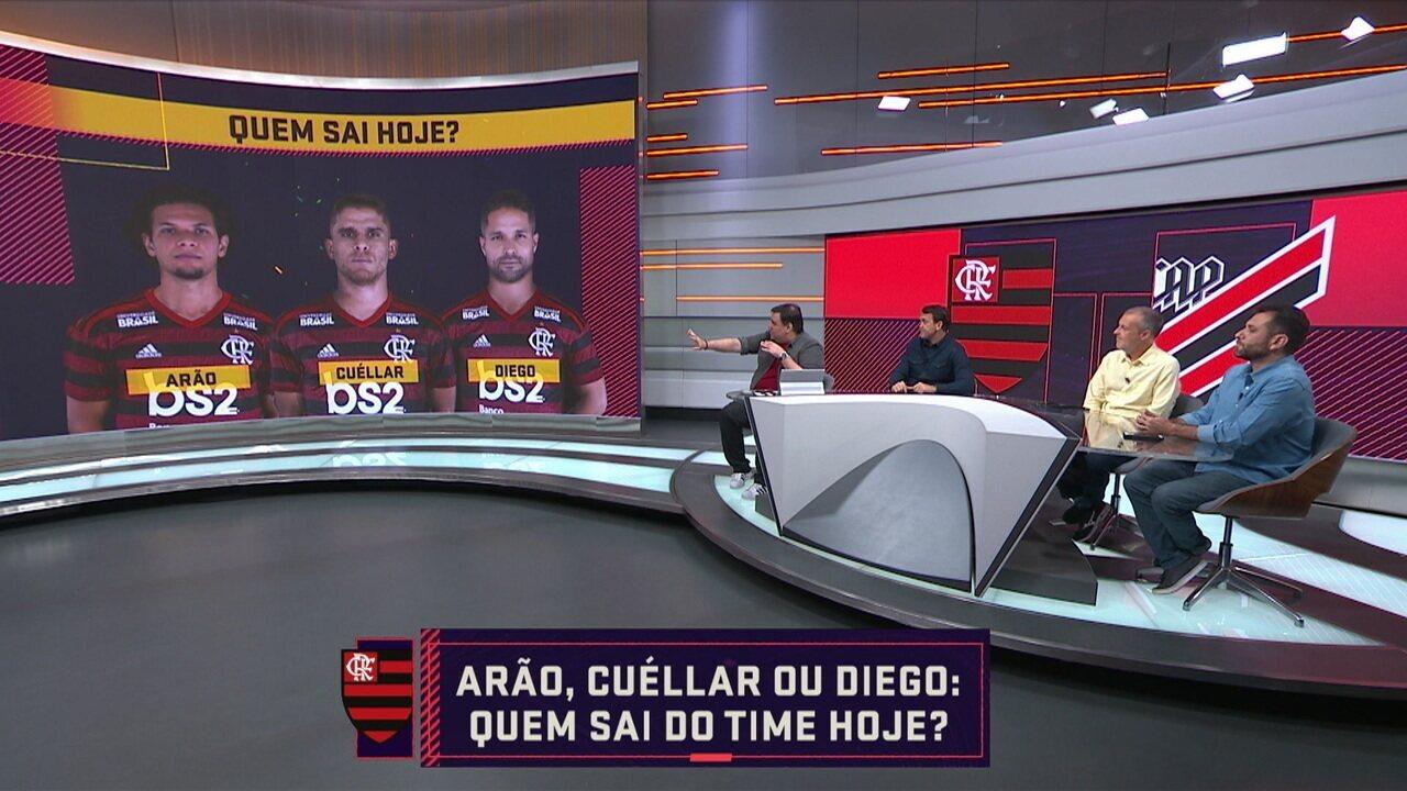 Seleção SporTV debate quem joga como titular no Flamengo no jogo de hoje