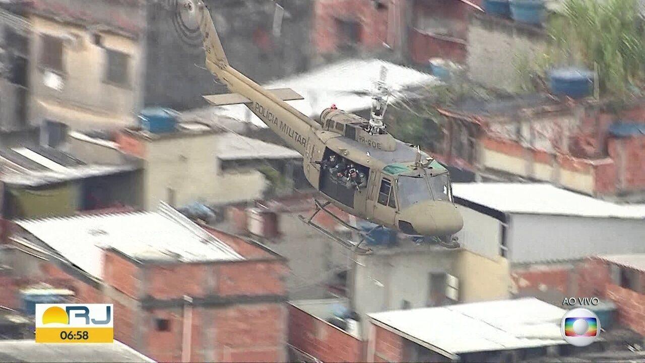 PM faz operação no Complexo da Maré