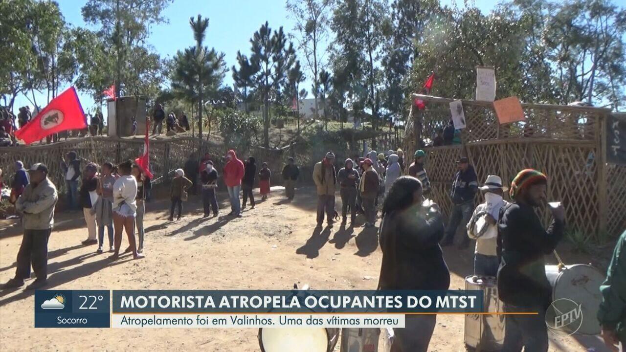 Motorista avança sobre moradores de ocupação durante protesto, mata idoso e deixa feridos