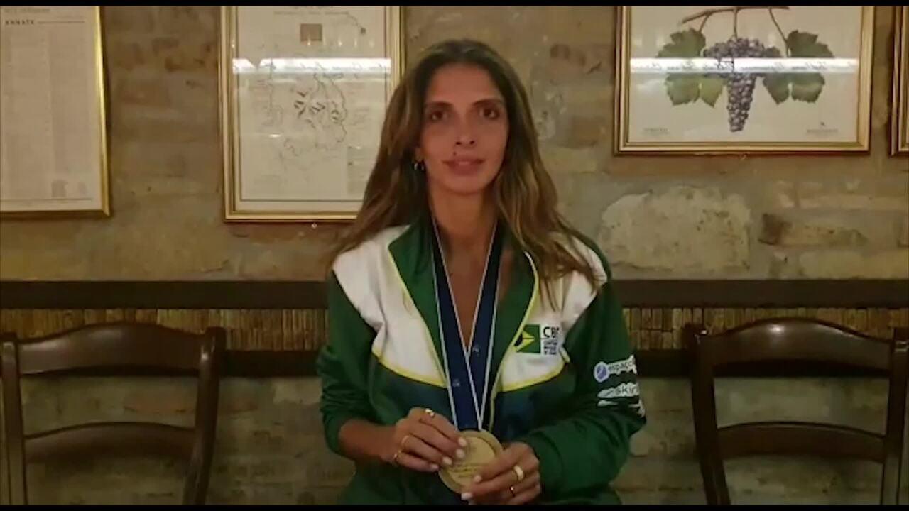 Nathalie Moellhausen fala sobre o título mundial de esgrima