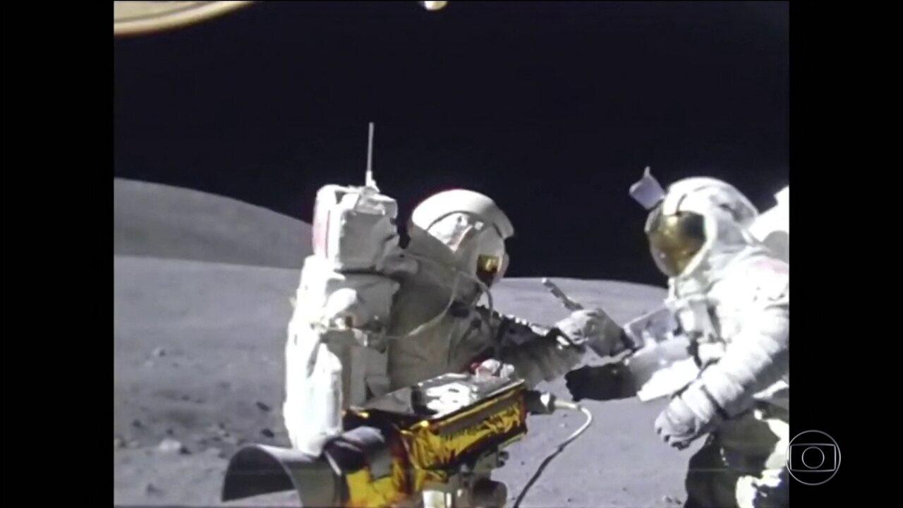 Comemoração dos 50 anos do homem na Lua prepara mundo para o próximo destino: Marte