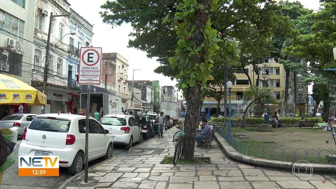 Motoristas enfrentam dificuldades para usar o aplicativo da Zona Azul no Recife