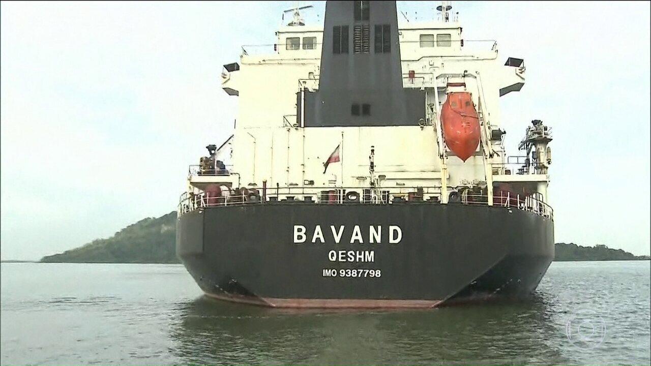 Petrobras Diz Que Não Abasteceu Navios Iranianos Parados