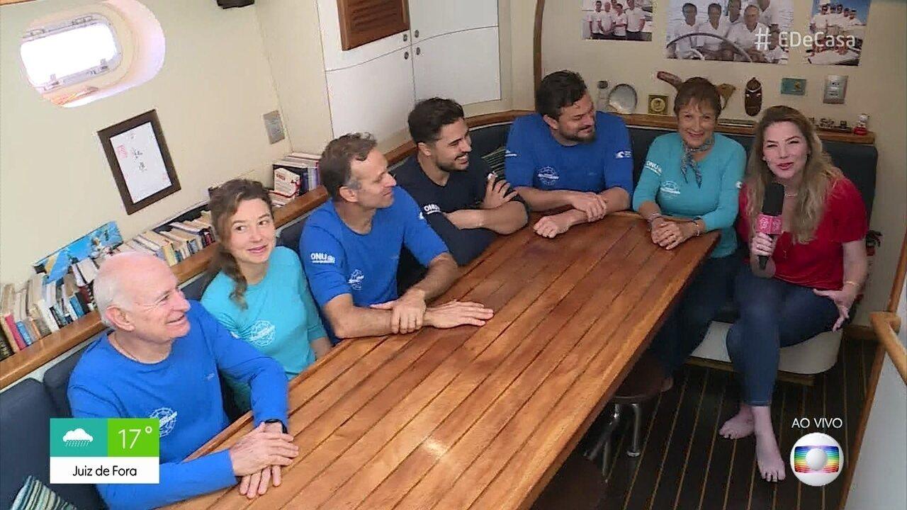 Família Shurmann se prepara para mais uma aventura em alto mar