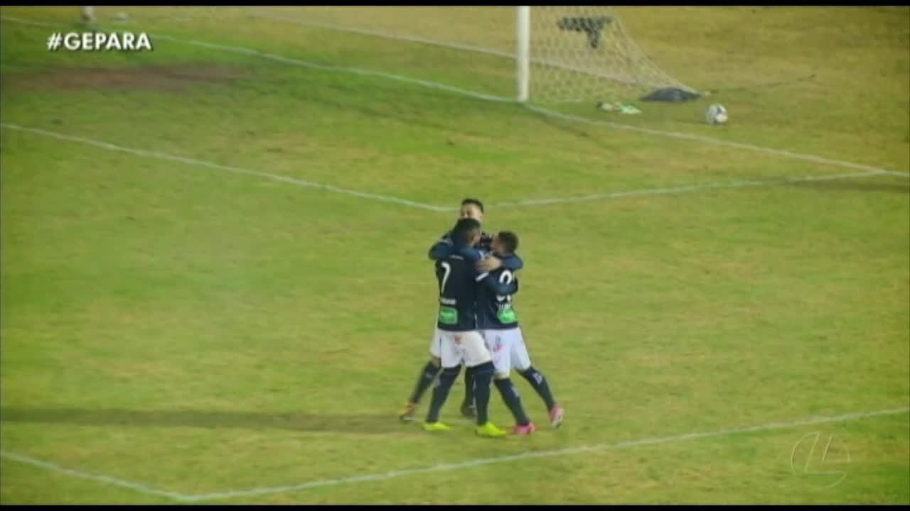 Reveja o lance do pênalti marcado pelo árbitro para o Ypiranga-RS