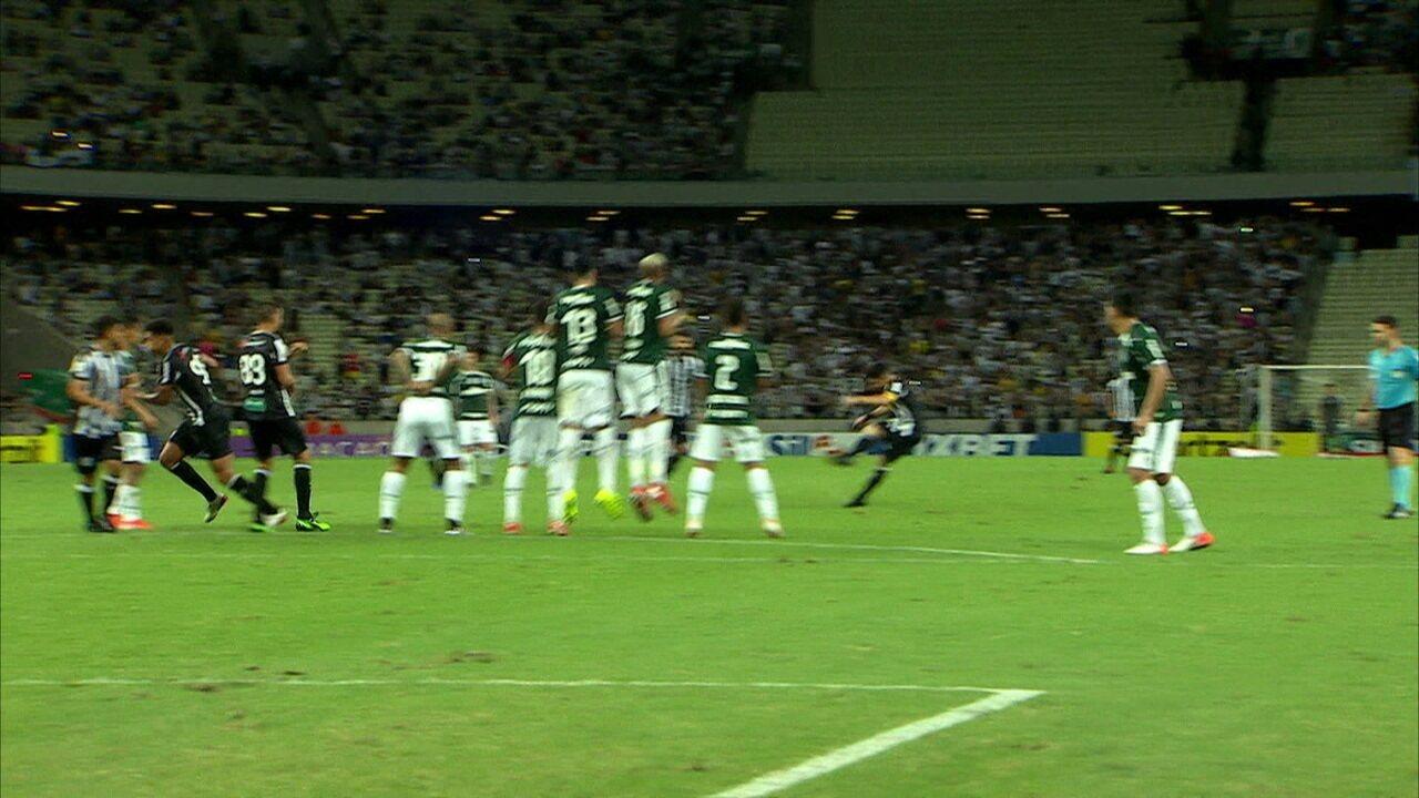 Melhores momentos: Ceará 2 x 0 Palmeiras pela 11ª rodada do Campeonato Brasileiro