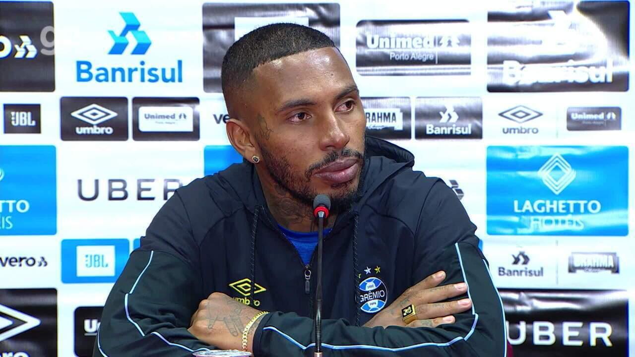 Confira a íntegra da entrevista do zagueiro Paulo Miranda após o Gre-Nal 421