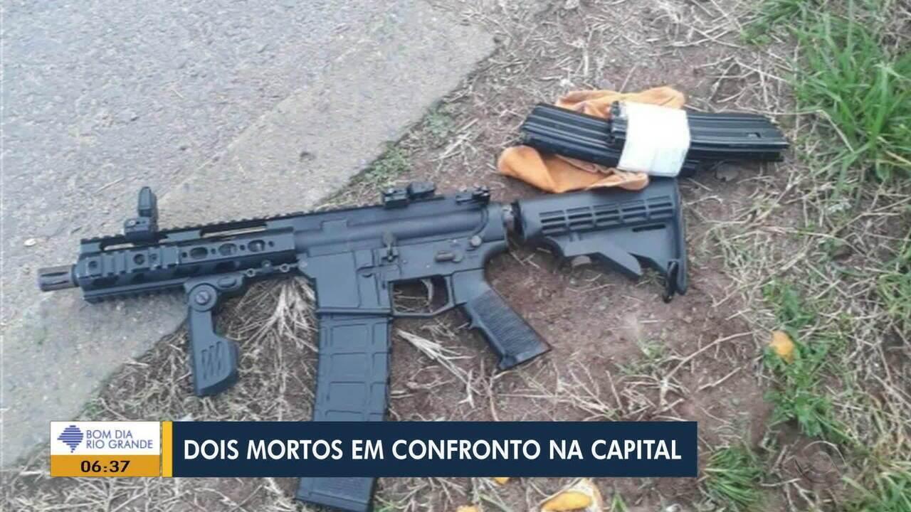 Duas pessoas são mortas em confronto com a polícia em Porto Alegre