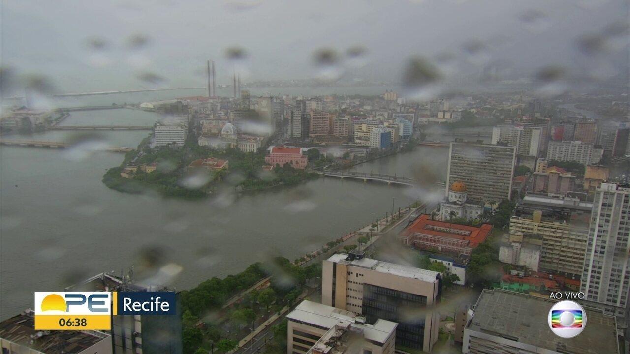 Apac prevê mais chuva para Mata Sul e Grande Recife