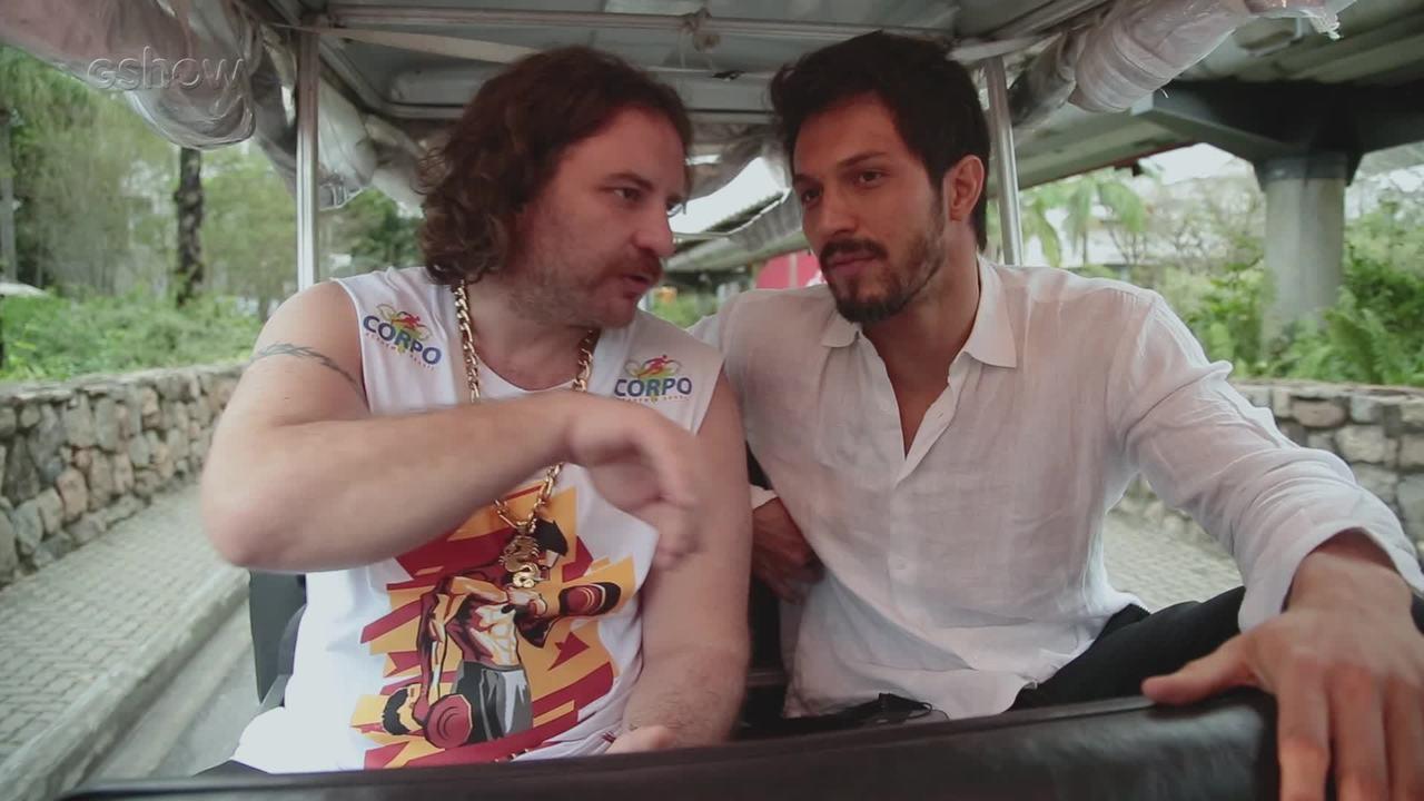 Julinho da Van pede vaga em novela para Romulo Estrela