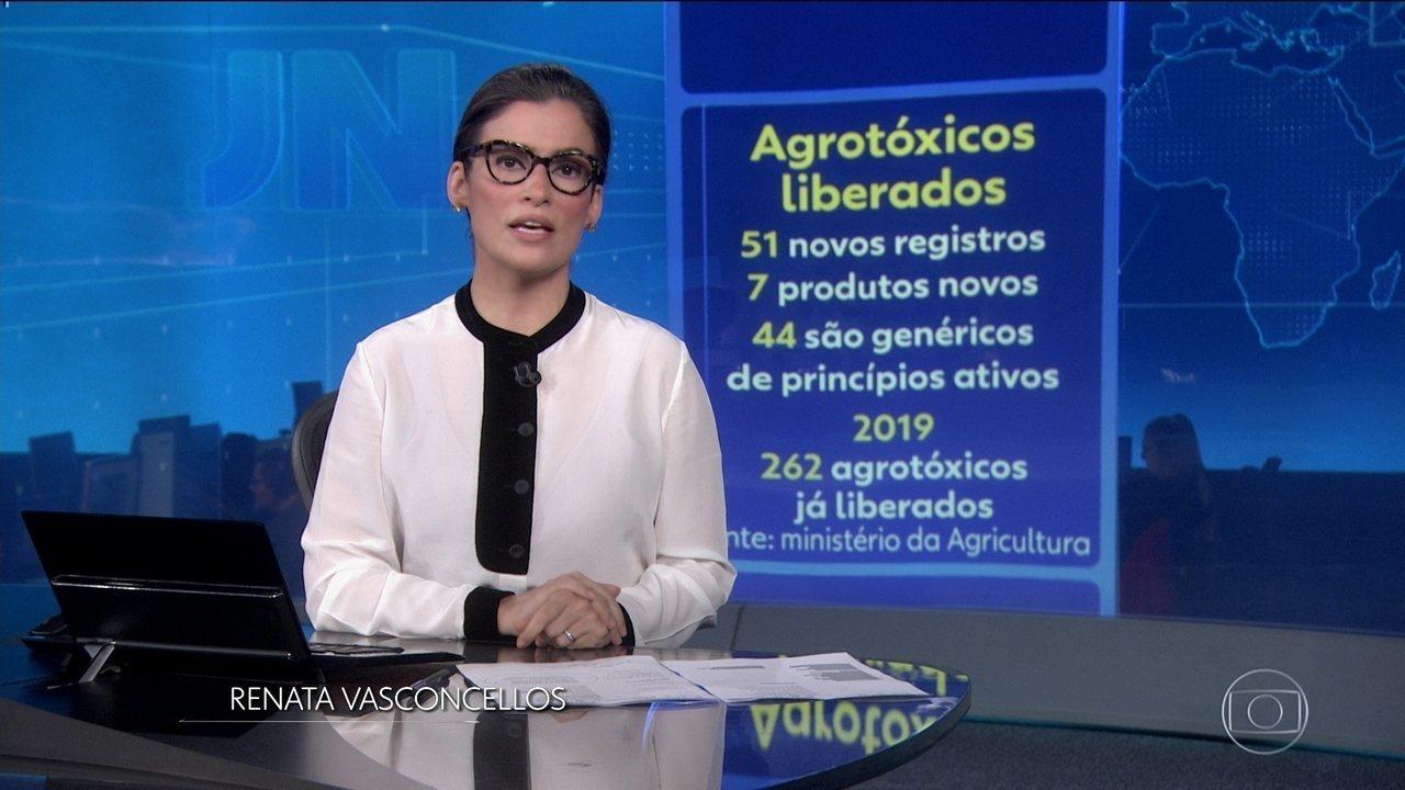Ministério da Agricultura libera mais 51 agrotóxicos