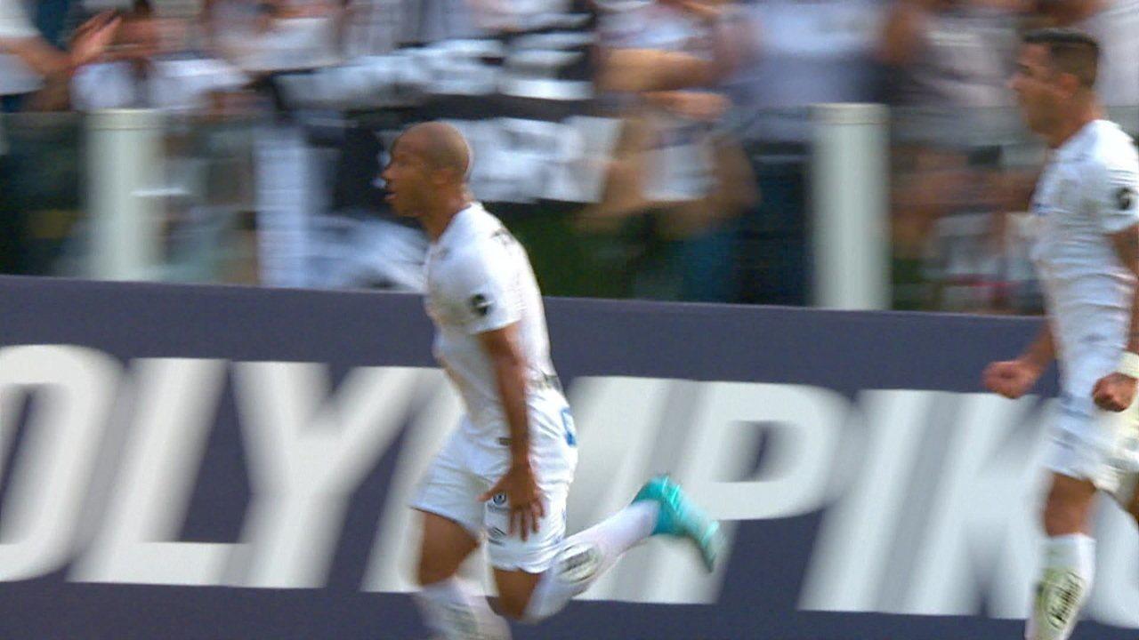 Os gols de Santos 3 x 1 Avaí pela 12º rodada do Campeonato Brasileiro