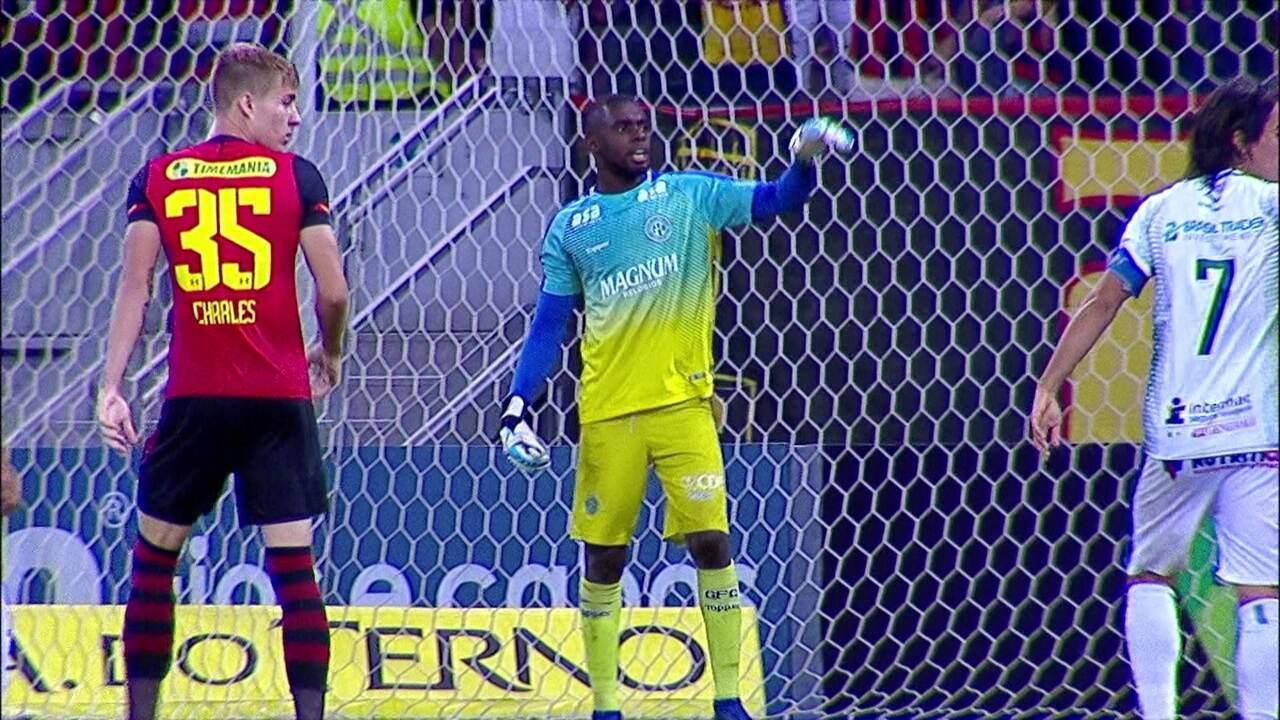 Melhores momentos: Sport 1 x 1 Guarani pela 13ª rodada do Brasileiro Série B