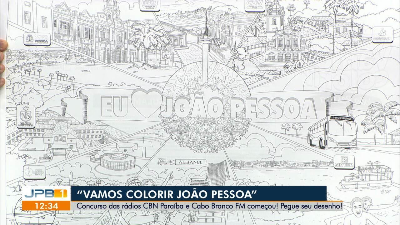 Abertas Inscricoes No Concurso Vamos Colorir Joao Pessoa 434 Anos