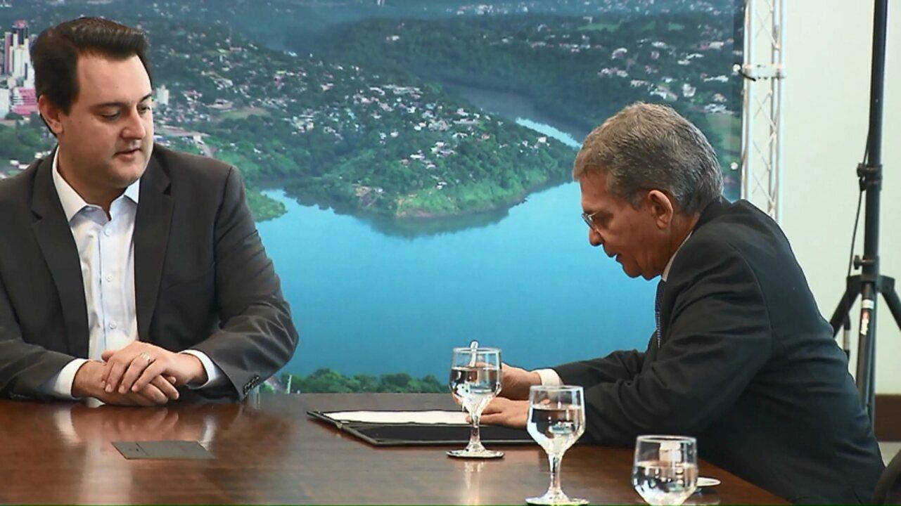 Governo do estado e Itaipu assinam início das obras da segunda ponte