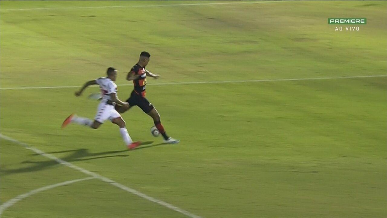Gol do Oeste! Após contra-ataque, Elvis acha Fábio que bate sem chances para Darley