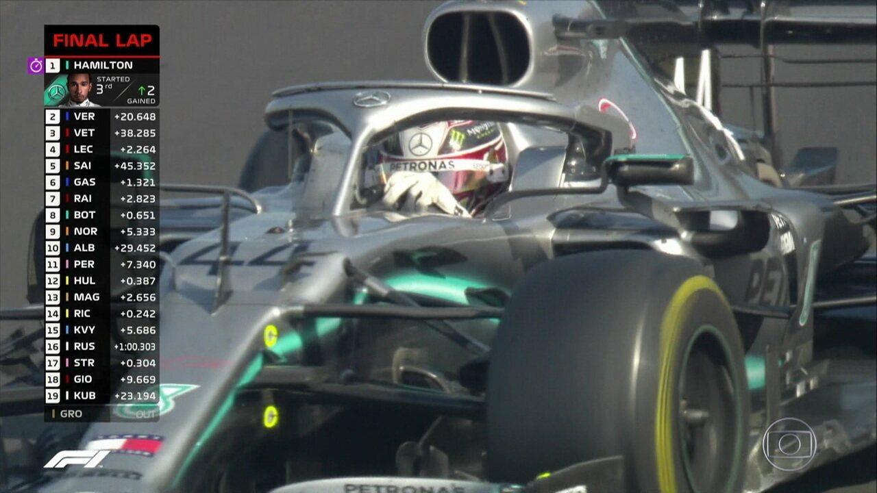 Última volta do GP da Hungria! Lewis Hamilton vence corrida seguido de Verstappen e Vettel