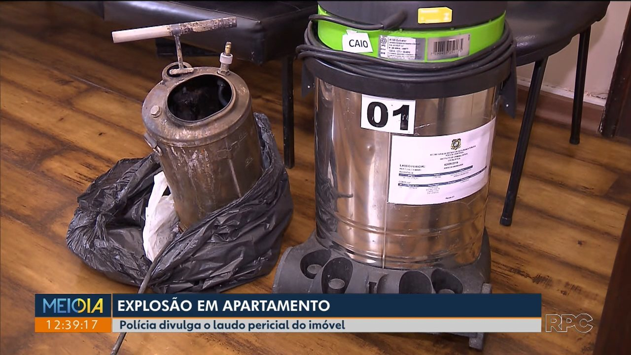 Explosão em apartamento: laudo pericial mostra que produto foi usado de maneira irregular