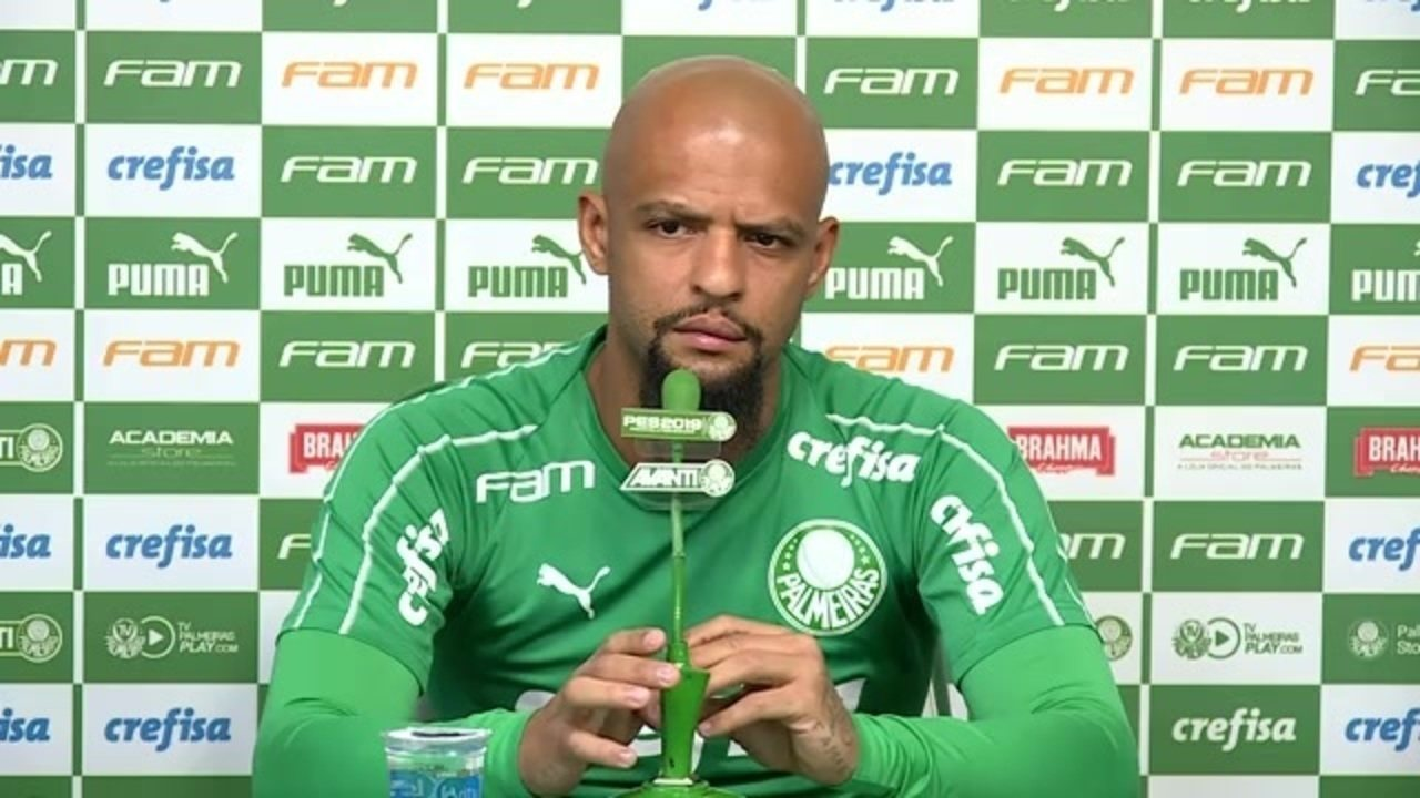 Veja a entrevista coletiva de Felipe Melo no Palmeiras