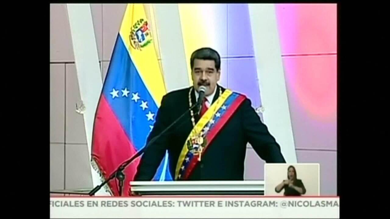 Maduro anuncia suspensão de diálogo após sanções americanas