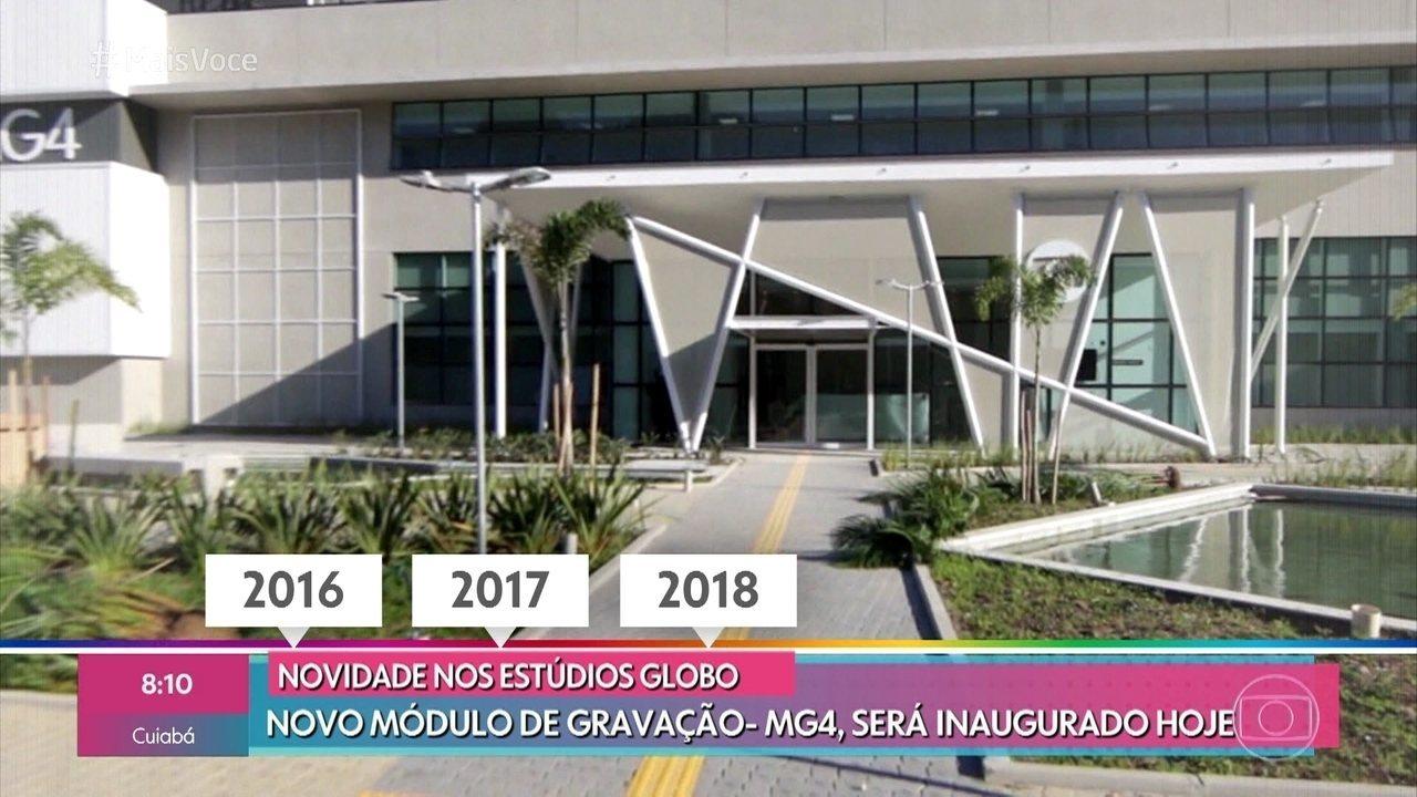 Globo inaugura novos estúdios do Entretenimento; relembre a trajetória da emissora