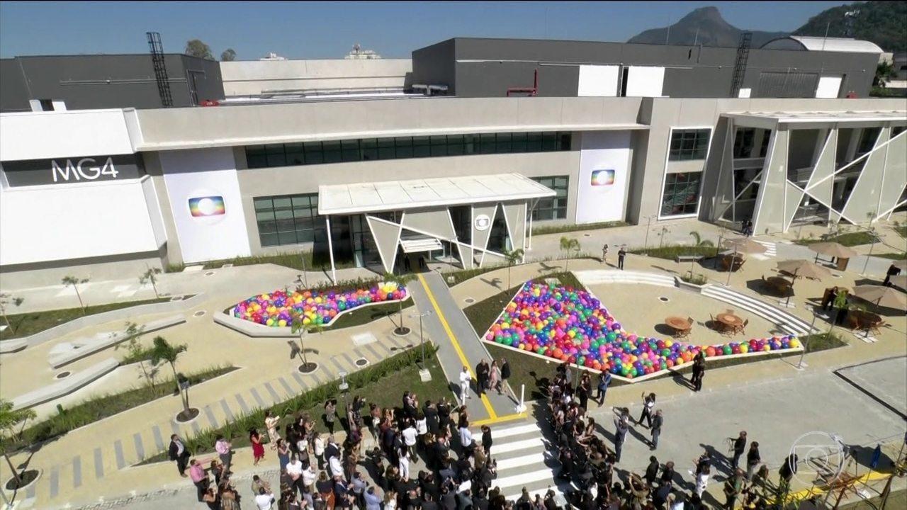 Globo inaugura conjunto com o maior complexo de produção de conteúdo da América Latina
