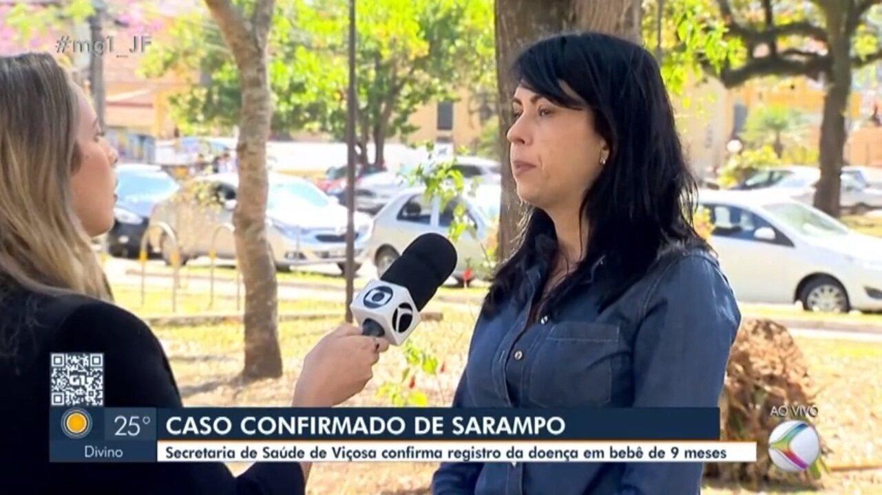 Primeiro caso de sarampo na Zona da Mata é confirmado em Viçosa