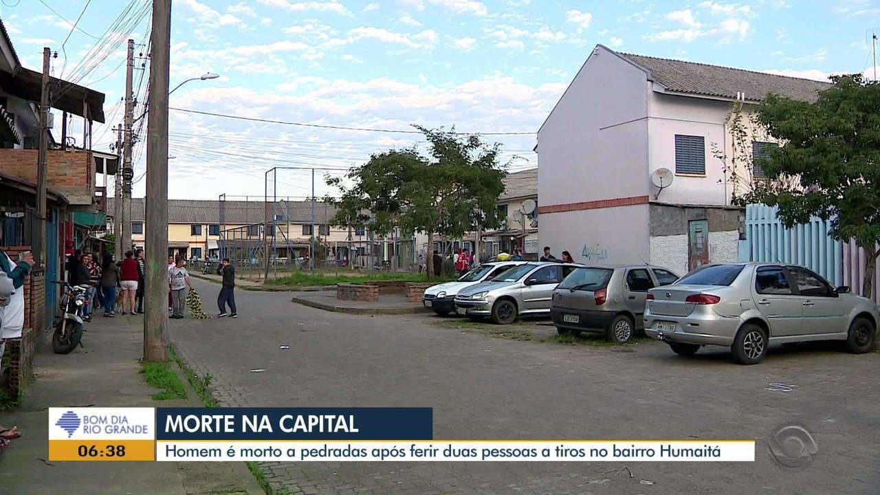 Homem é morto a pedradas após tiroteio na Zona Norte de Porto Alegre