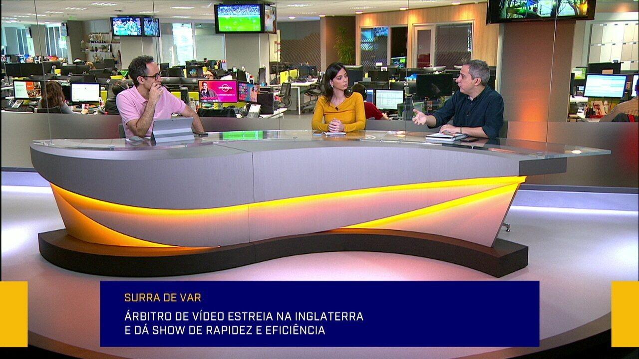 Mesa discute estreia do VAR no campeonato inglês