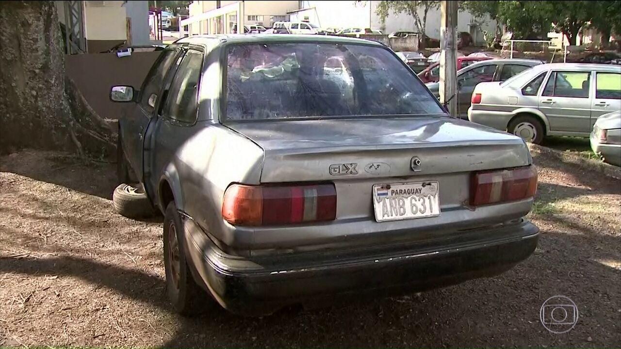 Polícia Rodoviária Federal encontra carro que foi furtado há 27 anos
