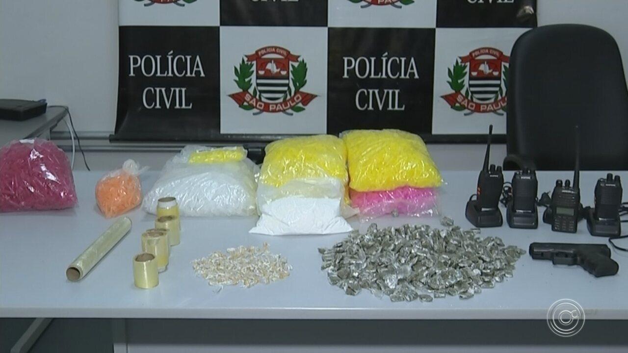 Polícia faz apreensão de drogas no Altos do Ipanema em Sorocaba
